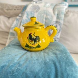 Sur La Table Rooster Teapot
